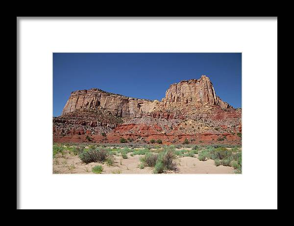 Southern Utah Framed Print featuring the photograph San Rafael Swell by Southern Utah Photography