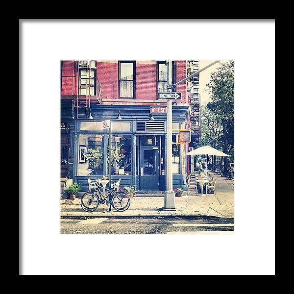 Summer Framed Print featuring the photograph 11th Street by Randy Lemoine