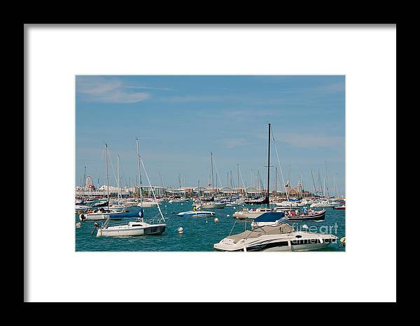 Chicago Framed Print featuring the photograph Chicago City Scenes by Carol Ailles