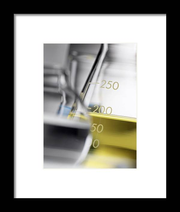Equipment Framed Print featuring the photograph Laboratory Glassware by Tek Image
