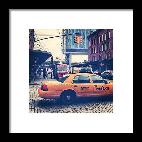 Summer Framed Print featuring the photograph 14th Street by Randy Lemoine
