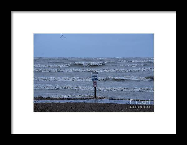 Hurricane Framed Print featuring the photograph Hurricane Sandy by Randy J Heath