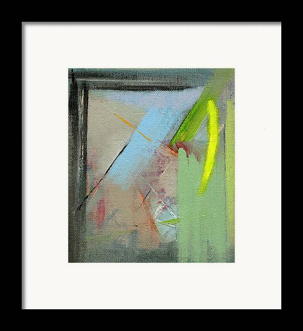 Abstract Framed Print featuring the painting Rcnpaintings.com by Chris N Rohrbach