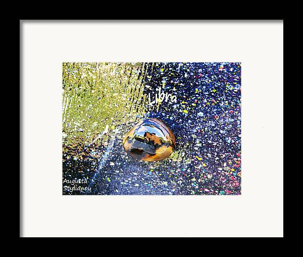 Barack Obama Painting Framed Print featuring the painting Barack Obama Star by Augusta Stylianou