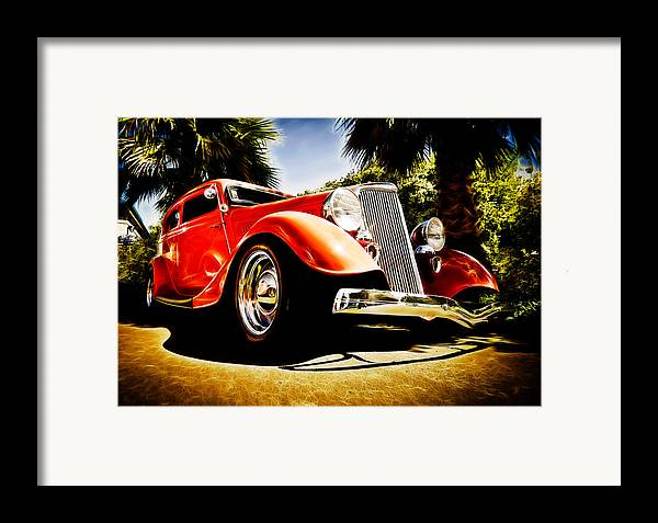 Ford Tudor Framed Print featuring the photograph 1930s Ford Tudor by Phil 'motography' Clark