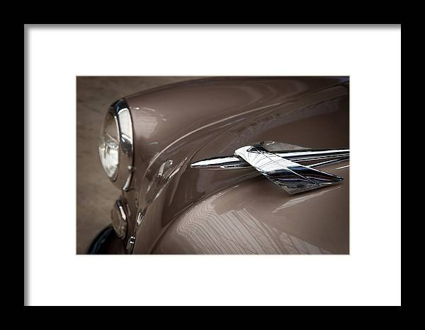 Automobiles Framed Print featuring the photograph 1949 Mercury by James Woody