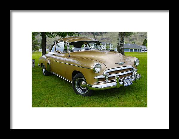 1950 Framed Print featuring the photograph 1950 Chevrolet by John Greaves