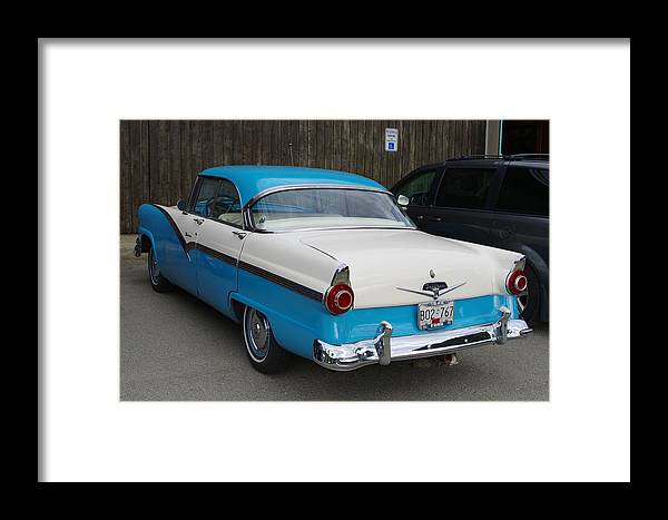 1956 Ford Fairlane Framed Print featuring the photograph 1956 Ford Fairlane by John Greaves