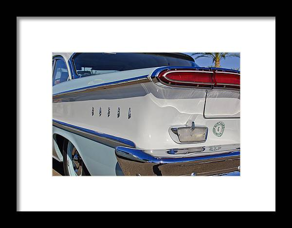 1958 Edsel Ranger Framed Print featuring the photograph 1958 Edsel Ranger by Jill Reger