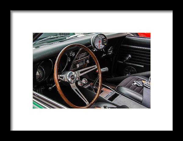 1968 Camaro Framed Print featuring the photograph 1968 Camaro by Roger Mullenhour