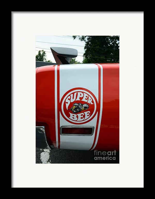 1970 Dodge Super Bee Framed Print featuring the photograph 1970 Dodge Super Bee 1 by Paul Ward