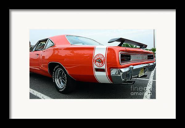 1970 Dodge Super Bee Framed Print featuring the photograph 1970 Dodge Super Bee 2 by Paul Ward