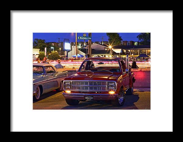 1979 Framed Print featuring the photograph 1979 Dodge Li'l Red Express Truck by Gordon Dean II