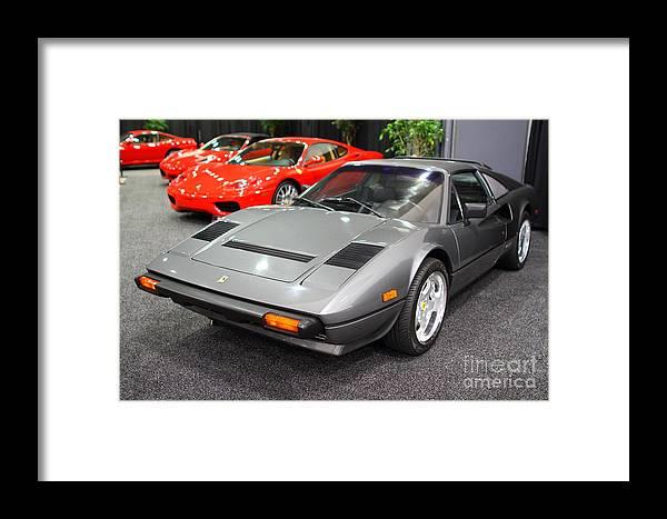 1984 Ferrari 308 Gts Qv 7d9372 1984 Framed Print