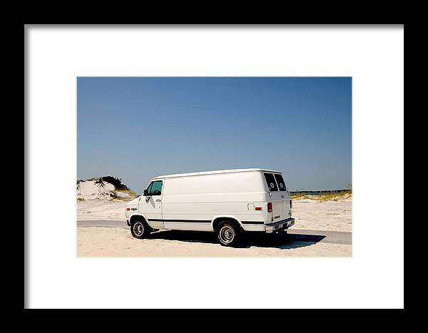 1993 Chevy Van G20 Framed Print