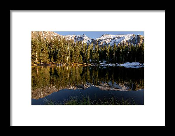 Art Framed Print featuring the photograph Alta Lakes by Ed Williams