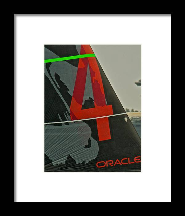 America's Cup Framed Print featuring the photograph America's Cup by Steven Lapkin