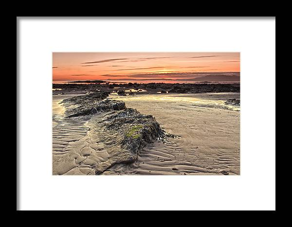 Sunset Framed Print featuring the photograph Ardrossan Sunset by Fiona Messenger