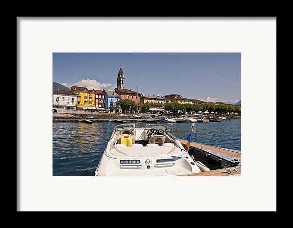 Apartment Framed Print featuring the photograph Ascona - Ticino by Joana Kruse