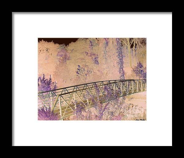 Bridge Framed Print featuring the painting Briidge by Alex Blaha