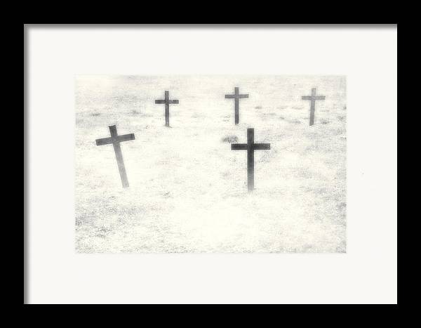 Cemetery Framed Print featuring the photograph Cemetery by Joana Kruse