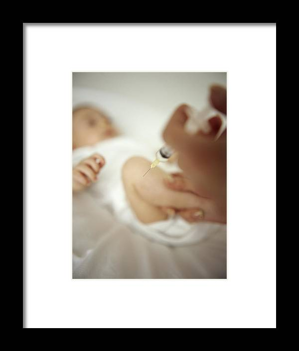 Needle Framed Print featuring the photograph Childhood Injection by Ian Boddy
