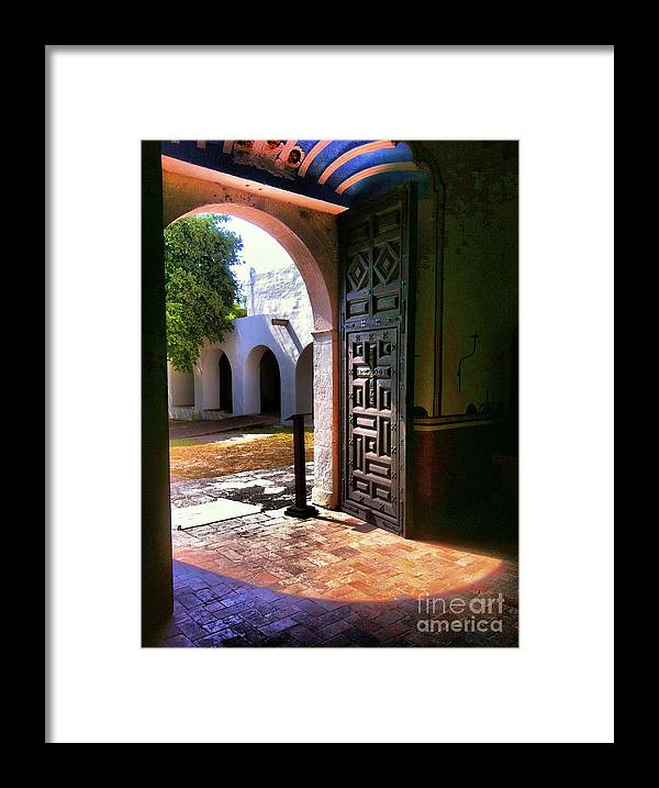 Framed Print featuring the photograph Goliad Tx by David Carter