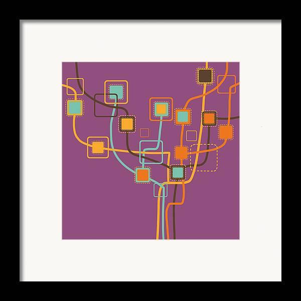 Art Framed Print featuring the photograph Graphic Tree Pattern by Setsiri Silapasuwanchai