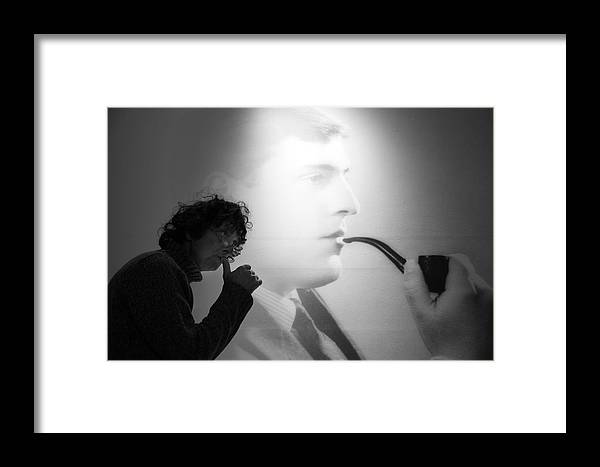 Jezcself Framed Print featuring the photograph Piped by Jez C Self