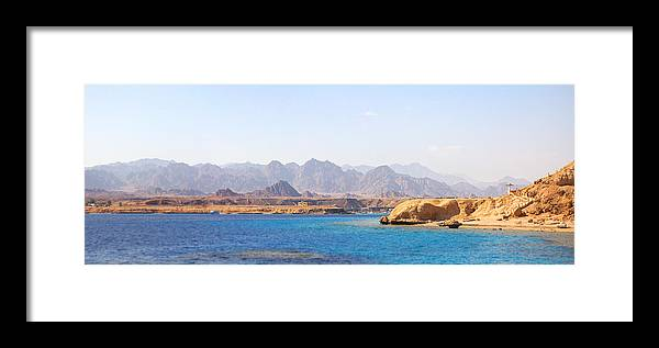 Sea Framed Print featuring the photograph Red Sea by Ruslan Gataulin