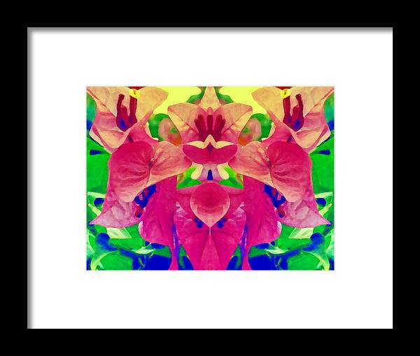 Flower Framed Print featuring the photograph Surrender by Beto Machado