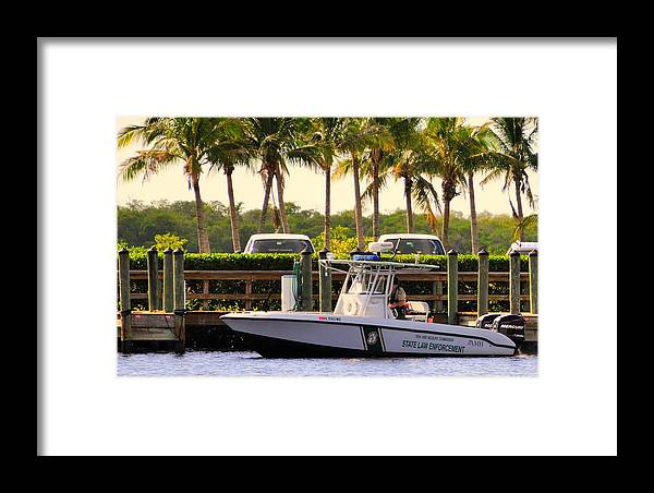 """""""live Life's Adventures"""" Framed Print featuring the digital art The Law by Barry R Jones Jr"""