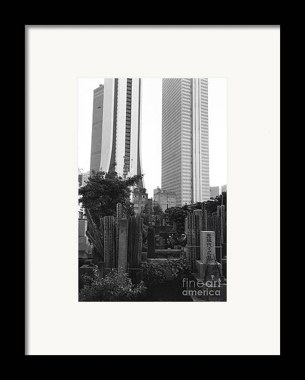 Tokyo Framed Print featuring the photograph Tokyo by Bernard Wolff