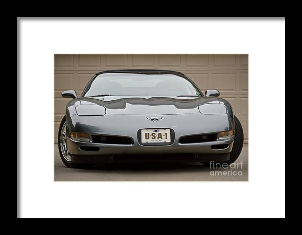 2003 Corvette Framed Print featuring the photograph 2003 C5 by Dennis Hedberg