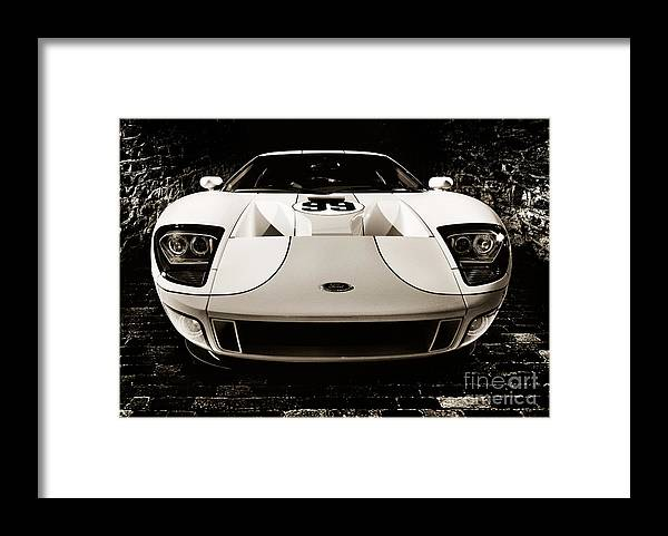 Ford Framed Print featuring the photograph 2006 Ford Gt by Oleksiy Maksymenko