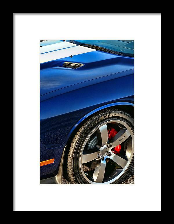 2011 Framed Print featuring the photograph 2011 Dodge Challenger 392 Hemi Srt8 by Gordon Dean II