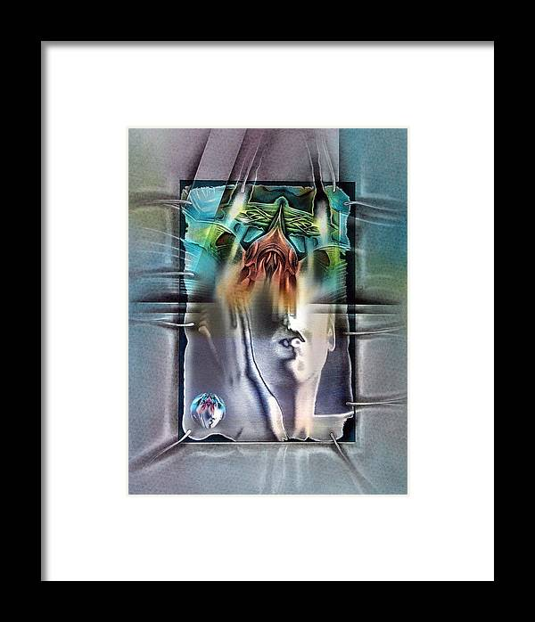 #24 Framed Print featuring the mixed media #24 Bubblenude 2003 by Glenn Bautista