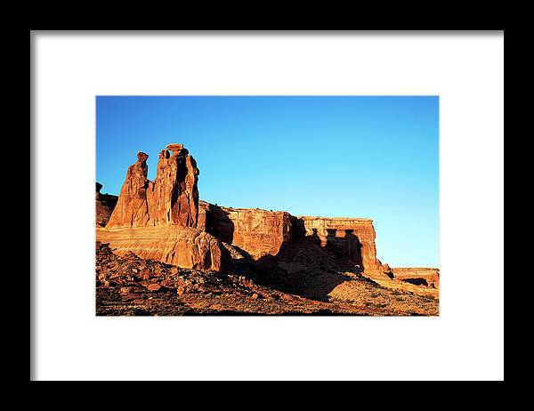 Southern Utah Framed Print featuring the photograph Arches National Park by Southern Utah Photography