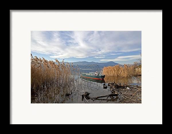 Lago Maggiore Framed Print featuring the photograph Lake Maggiore by Joana Kruse