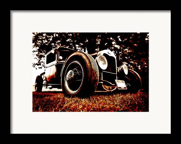 Hot Rod Framed Print featuring the photograph 29 Ford Pickup by Phil 'motography' Clark
