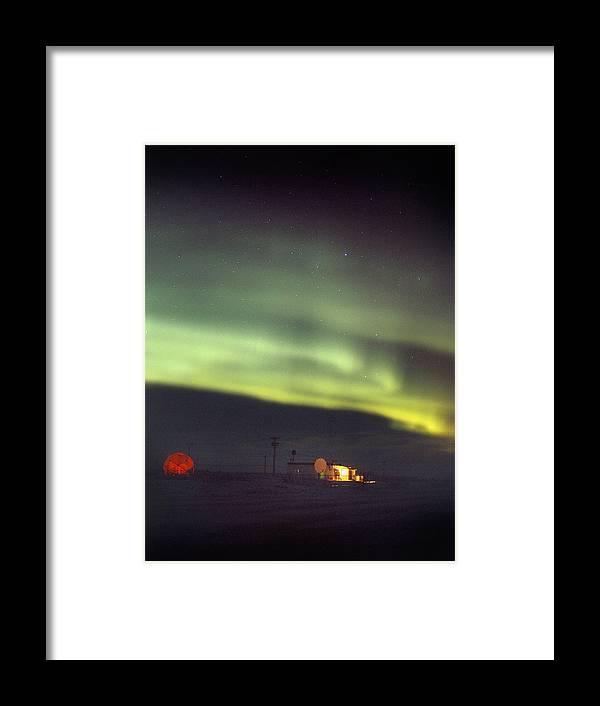 Aurora Borealis Framed Print featuring the photograph Aurora Borealis by Chris Madeley
