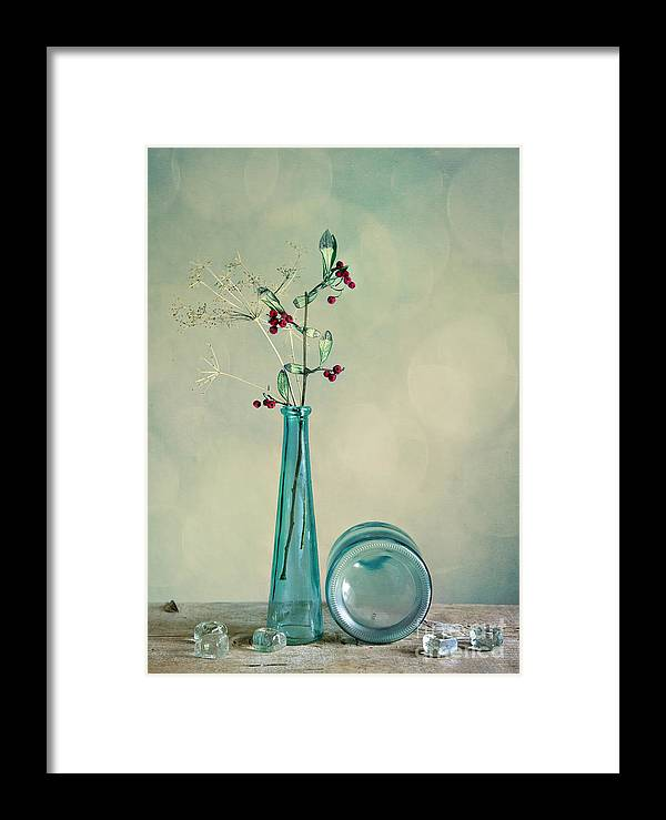 Glass Framed Print featuring the photograph Autumn Still Life by Nailia Schwarz