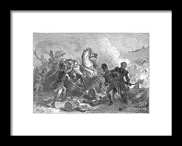 1815 Framed Print featuring the photograph Battle Of New Orleans by Granger