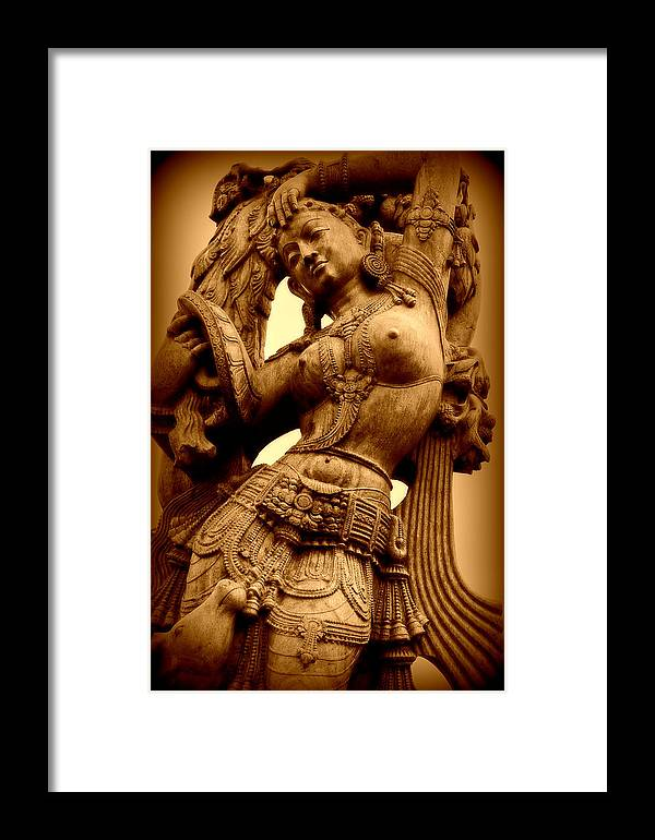 Statue Framed Print featuring the photograph Beauty by Rebecca Frank