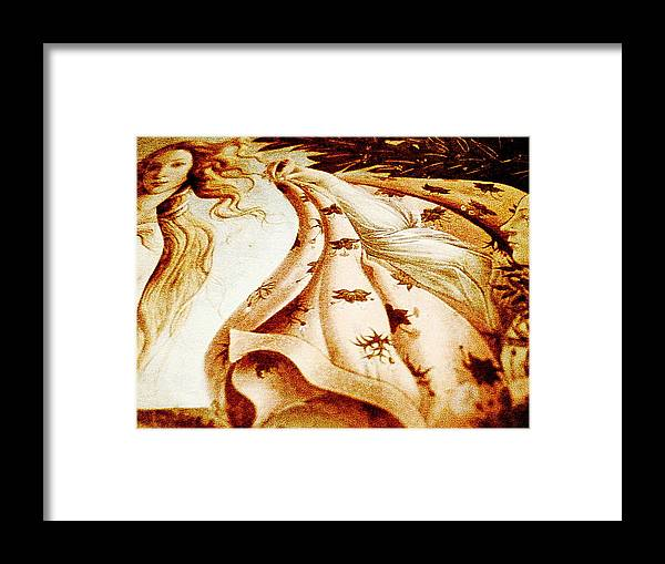 Digital Art Framed Print featuring the digital art Close by Beto Machado