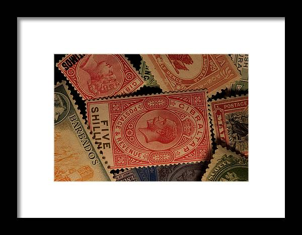 Nobody Framed Print featuring the photograph Closeup Of Classic British Empire by Phil Schermeister