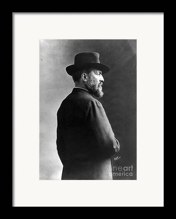 Government Framed Print featuring the photograph James A. Garfield, 20th American by Photo Researchers