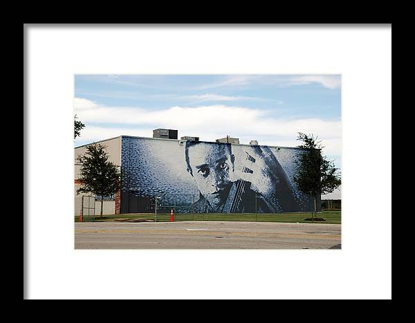 Johnny Cash Framed Print featuring the photograph Johnny Cash by Rob Hans