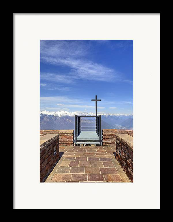Monte Tamaro Framed Print featuring the photograph Monte Tamaro by Joana Kruse