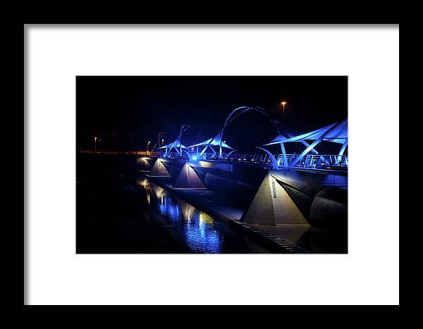 Night Light Framed Print featuring the photograph Night Light by Alberto Sanchez